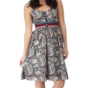Joe Browns Plus Size US 28 4X 5X  Boho Tea Dress